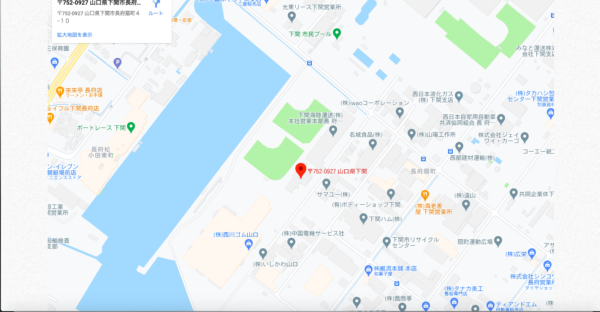 ドローンXアカデミー 地図 写真