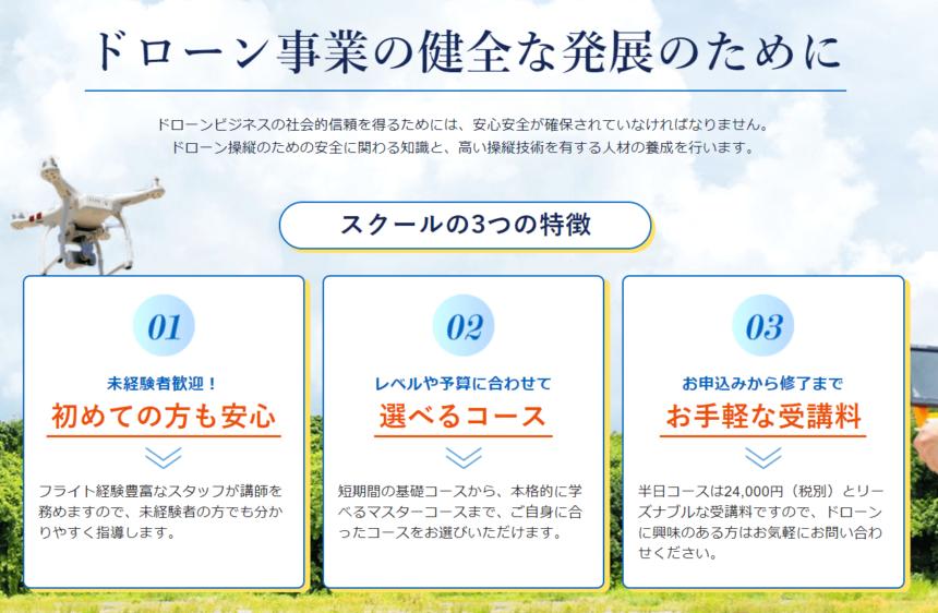 株式会社スカイオーイングのホームページ画像