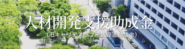石川ドローンスクール公式サイト「人材開発支援助成金」の画像