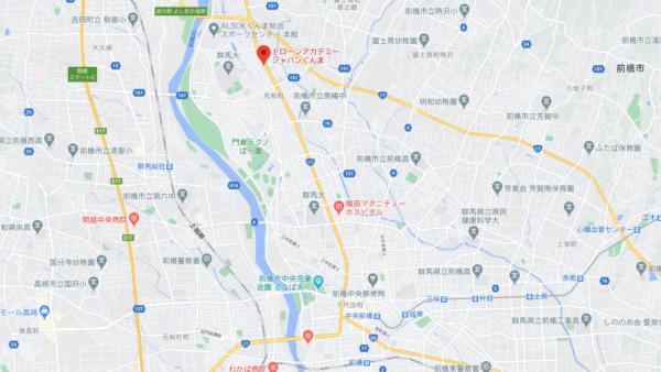 Go Japan 群馬インターネット株式会社付近にあるドローンスクールの画像